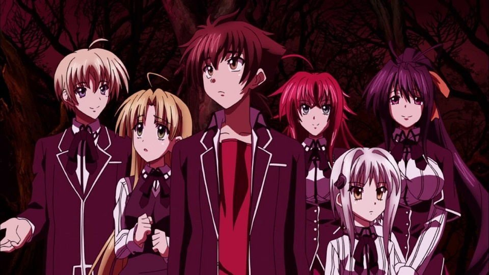 Okul animeleri,Aksiyon Okul animeleri,Komedi Okul Animeleri