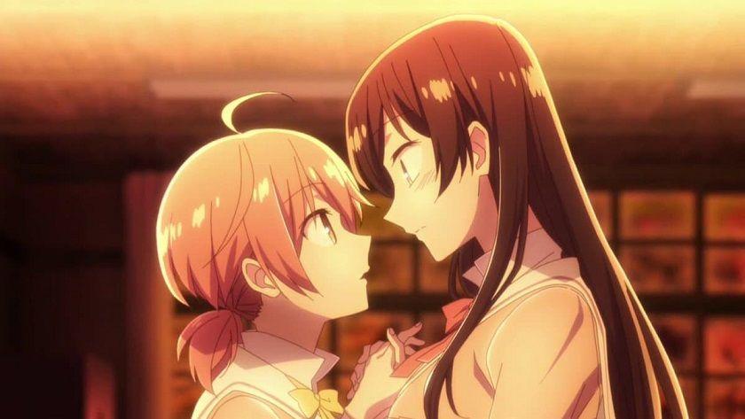 En iyi Shoujo Ai Animeleri