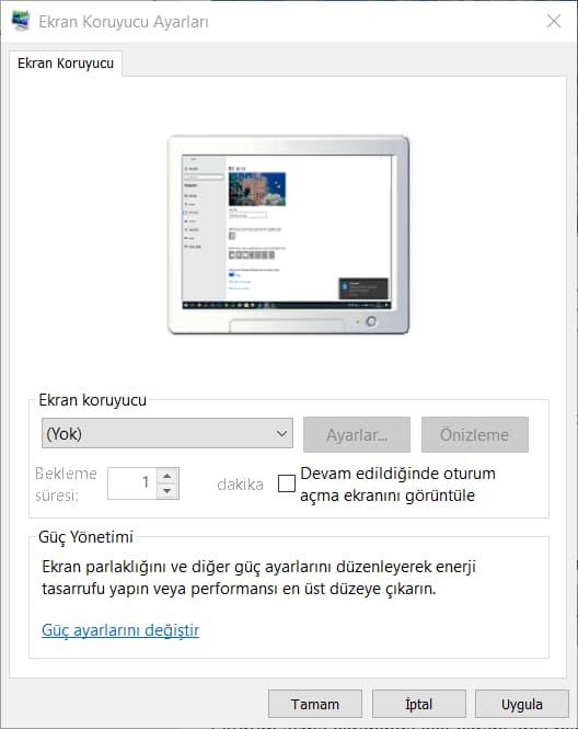 Windows 10 Ekran Koruyucuyu Kapatma Nasıl Yapılır?