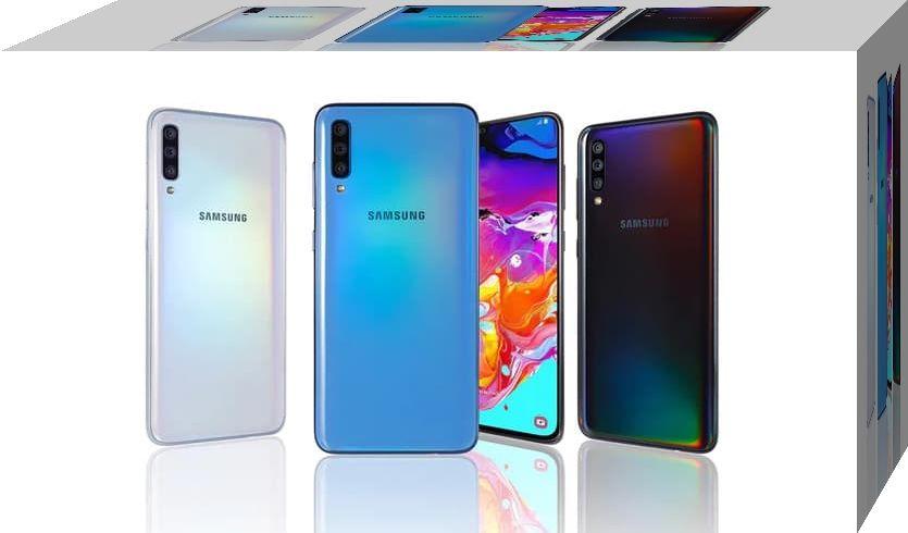 Samsung Galaxy A70s Format Atma