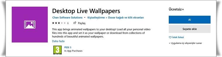 Windows Hareketli Wallpaper Nasıl Yapılır?