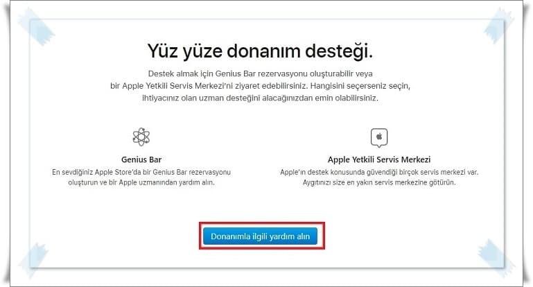 Teknik Destek için Apple Randevu Alma Nasıl Yapılır?