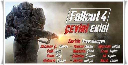 Fallout 4 Türkçe Yama Nasıl Kurulur?