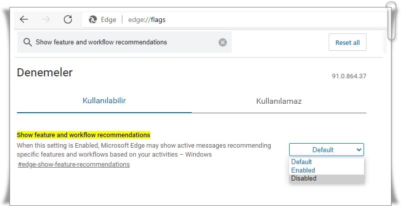Bing Bildirimleri Nasıl Kapatılır?