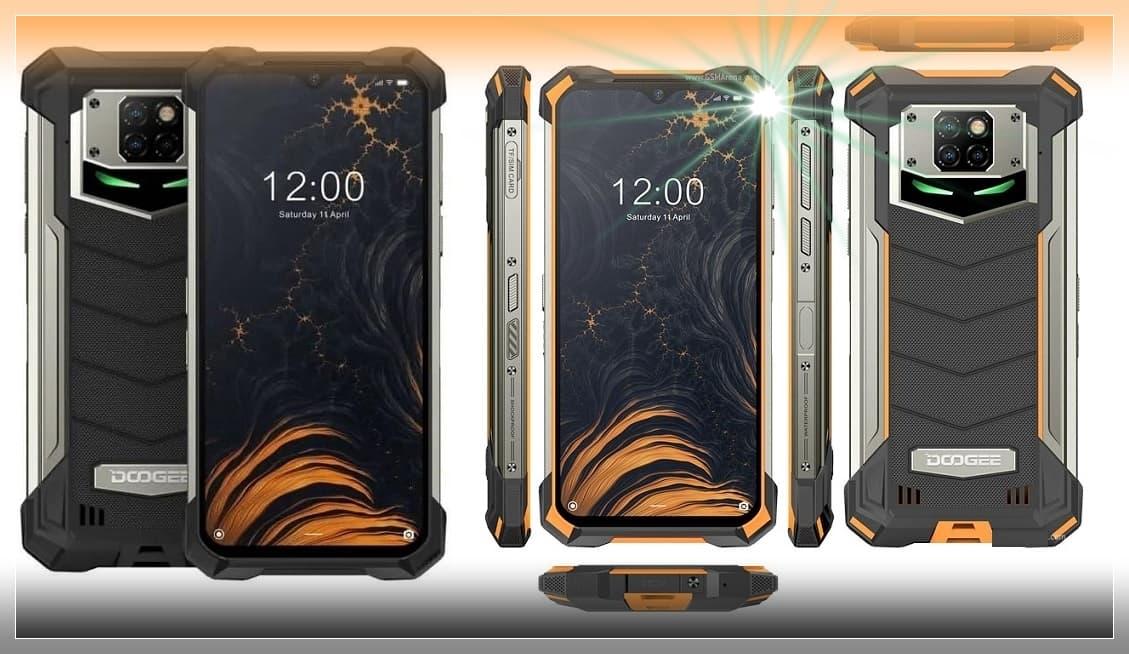 10000 mAh Bataryalı Telefon (Doogee S88 Pro Özellikleri)